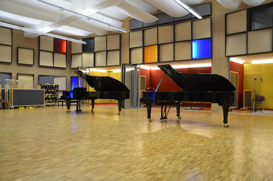 Biggest Recording Studio in Switzerland- Largest Recording Studio in Switzerland