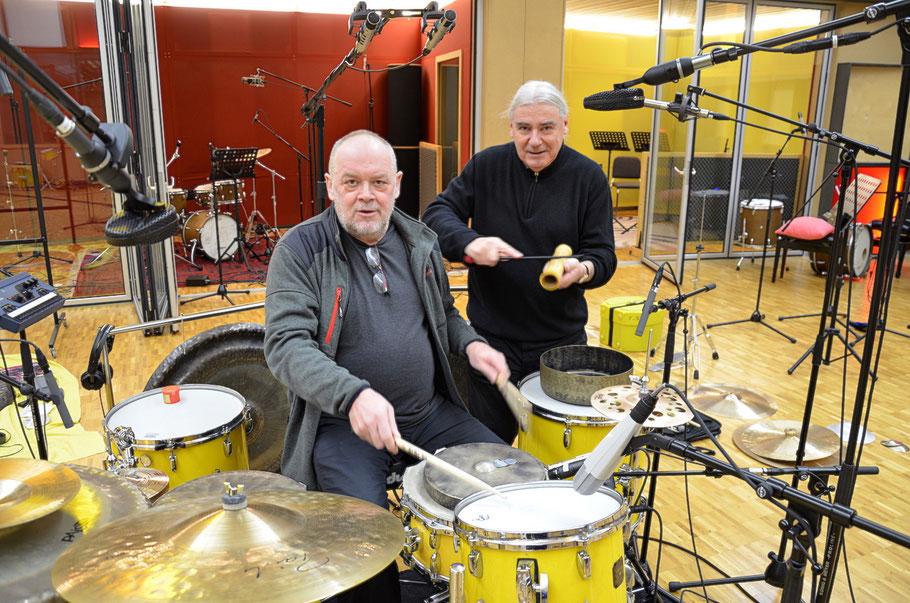 Fredy Studer und Roli Mosimann - Biggest Recording Studio in Switzerland