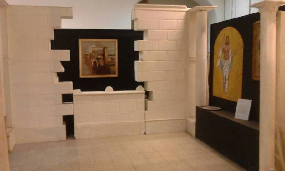 CRISTO RISORTO - in esposizione permanente per tutto l'Anno Giubilare 2016 presso Polo Juana Romani di Velletri, Roma