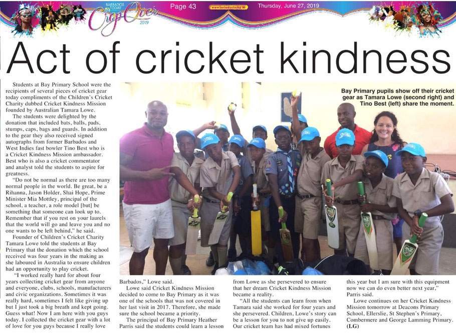 Barbados Today, June 27, 2019