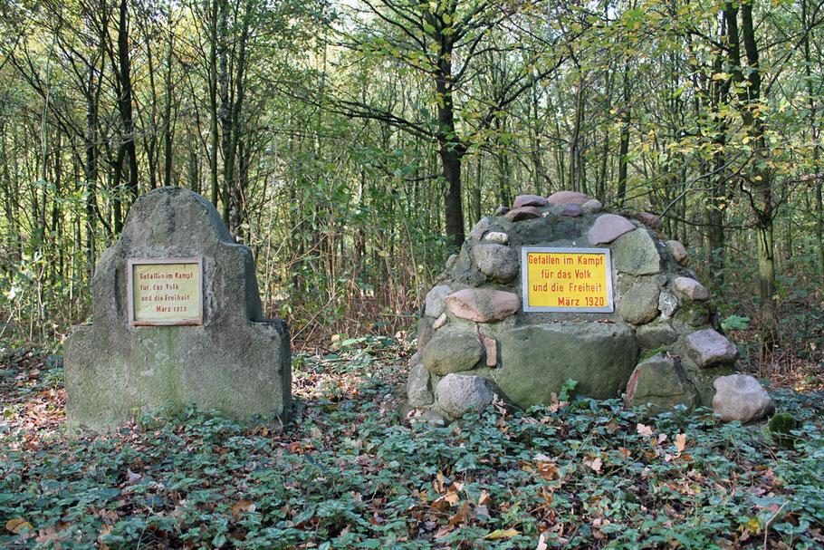 Die Spartakistengräber an der Eversumer Str.