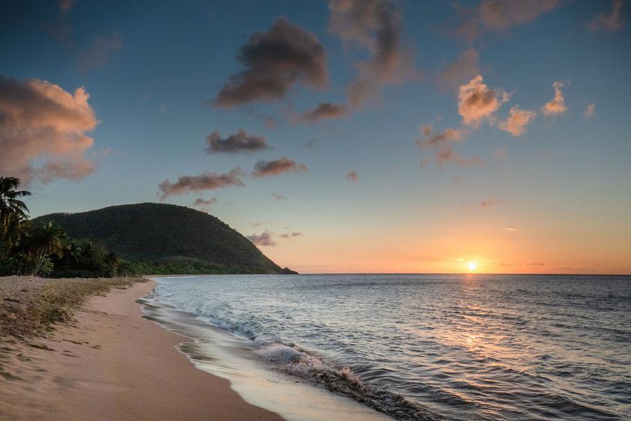 La grande anse - Deshaies - les plus belles plages de guadeloupe