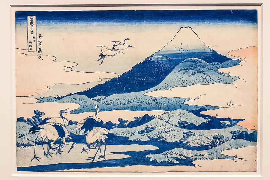 Estampes Japonaises - Mont Fuji - Hotel de Caumont - Aix en provence