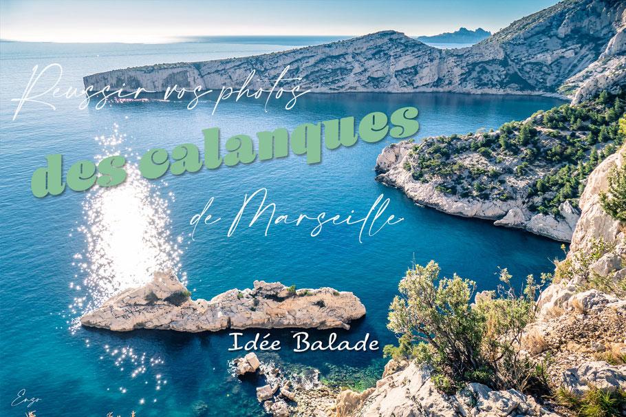 La plus belle des randonnées des Calanques de Marseille - Pour faire des photos splendides