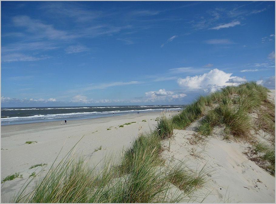 Am Strand - die Erholung für Wattwanderer
