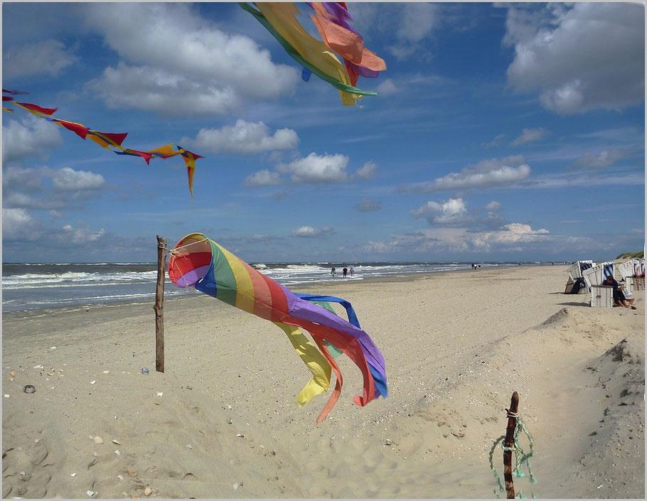 Nicht nur Wattwandern - auch der Strand gehört dazu