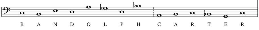 thème musique partition randolph carter