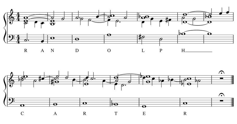 partition musique harmonisation quatuor randolph carter