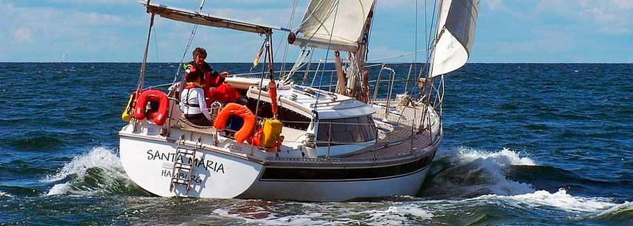 segelreisen zum mitsegeln auf ostsee, nordsee und atlantik