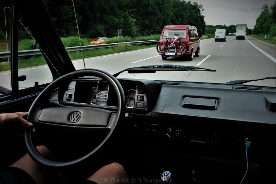 Road Trip im VW T3 WESTFALIA Club Joker zur Insel Møn/DK