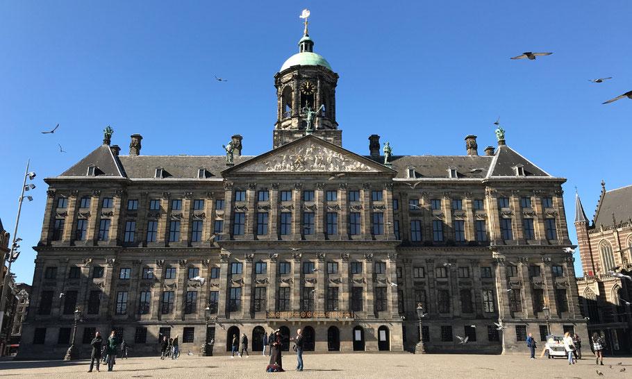 Royal Palace, design by Jacob van Kampen, built 1648-1665.