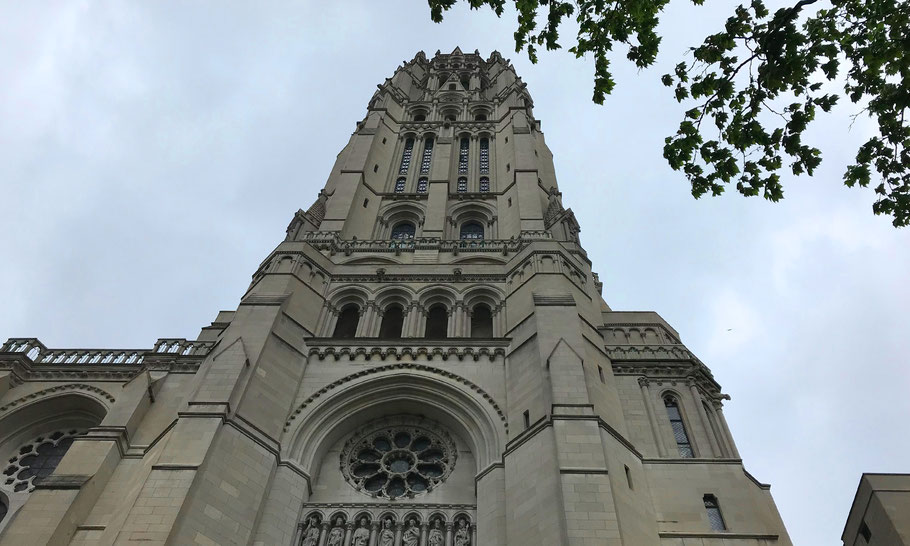 The Riverside Church, 490 Riverside Drive, Morningsde Heights, New York.