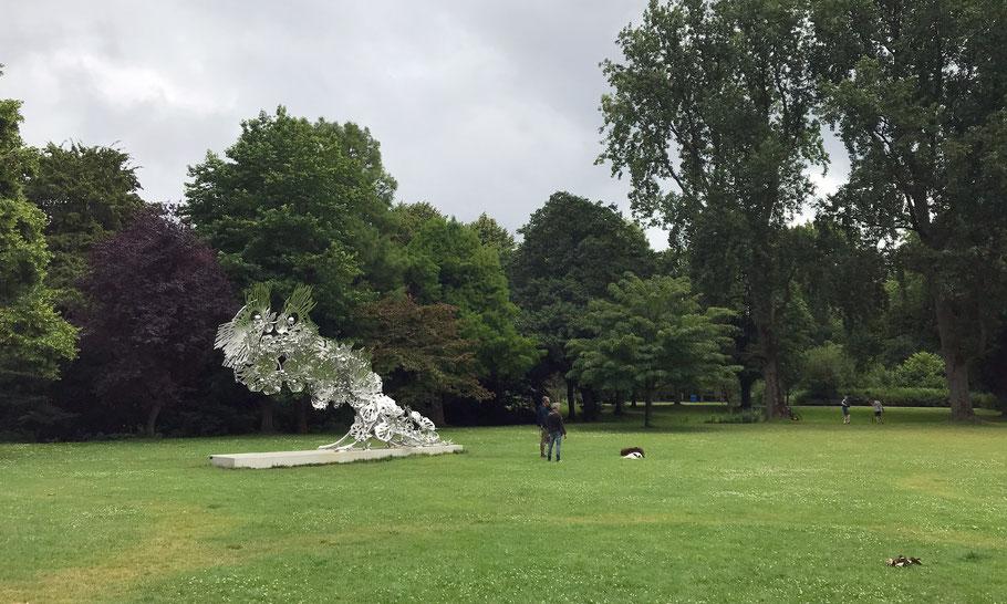 Beatrix Park, Future Past Glory, monument for Jakoba Mulder, by Heringa/van Kalsbeek (2018)