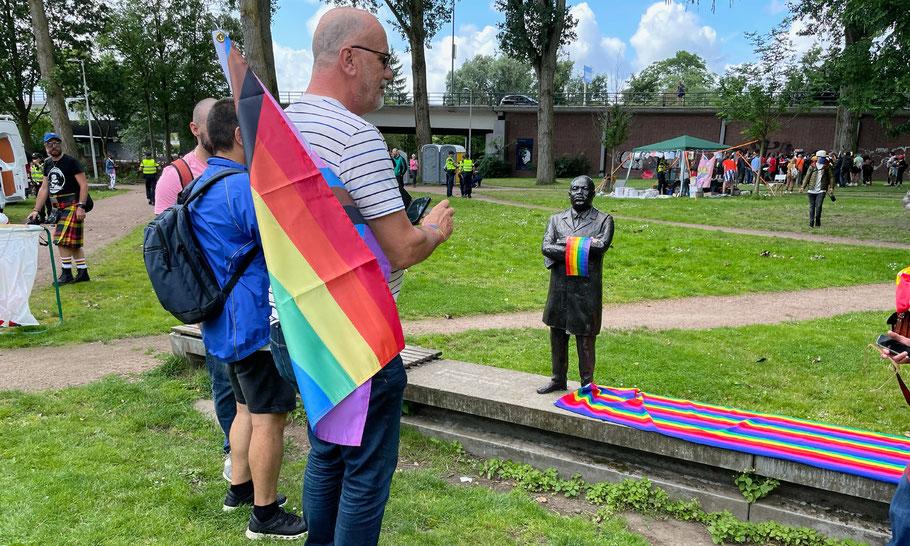 Pride Walk Amsterdam, August 7, 2021