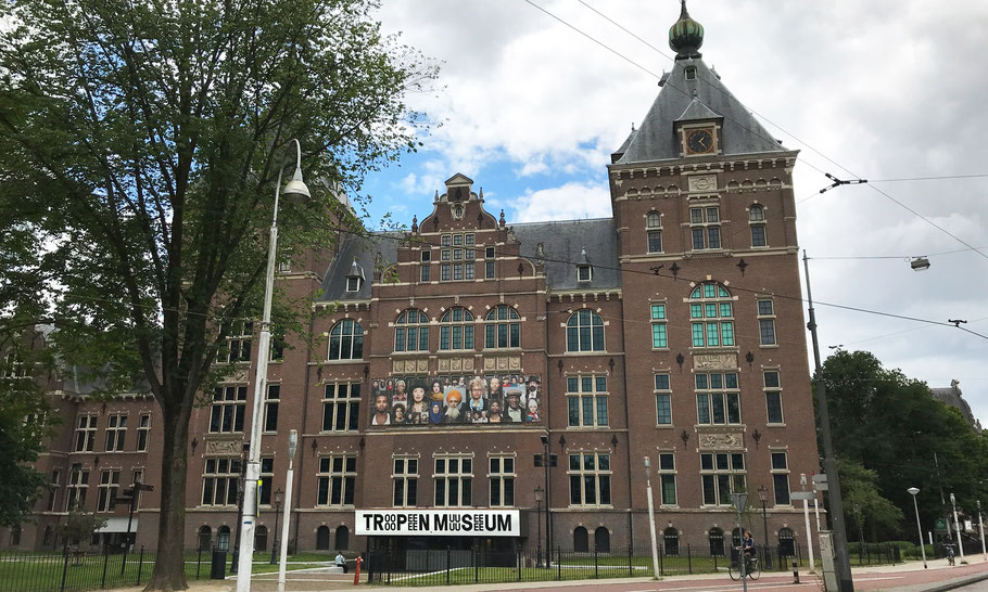 Tropenmuseum, Linnaeusstraat 2, used to be a Colonial Museum, and today a decolonial museum of world cultures.