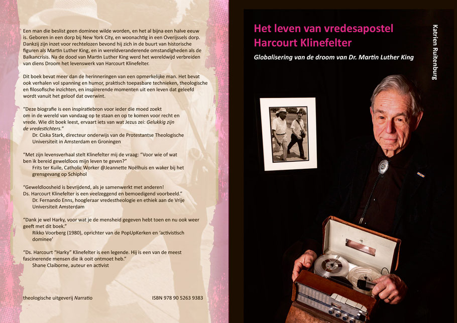 Harcourt's biography was launched April 11, 2018 in Assen, Netherlands. Photo: M. Lensink | Lens-Inc.