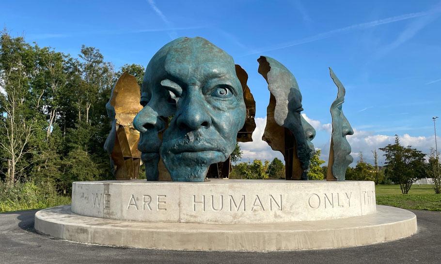 Nelson Mandela Memorial by Mohau Modisakeng, called RONA BOTHA (we the people, wij het volk)