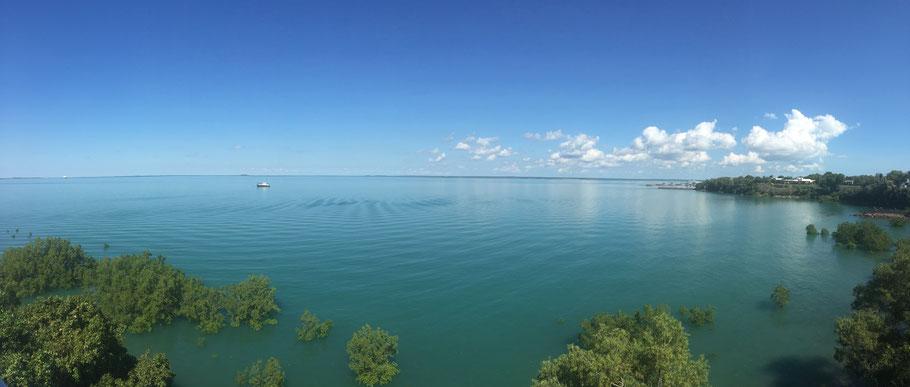 Auf unsrem Weg zur Meeresbucht. Das Wasser hatte so eine intensiv-türkise Farbe, richtig toll!