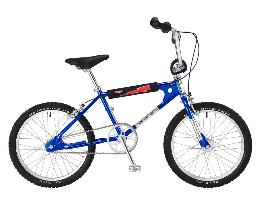 Screamin'  Wheel Old Style BMX WEBCO BLUE