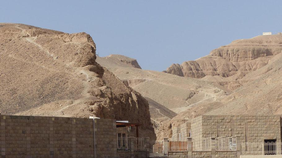 Eingang in das Tal der Könige von Theben-West