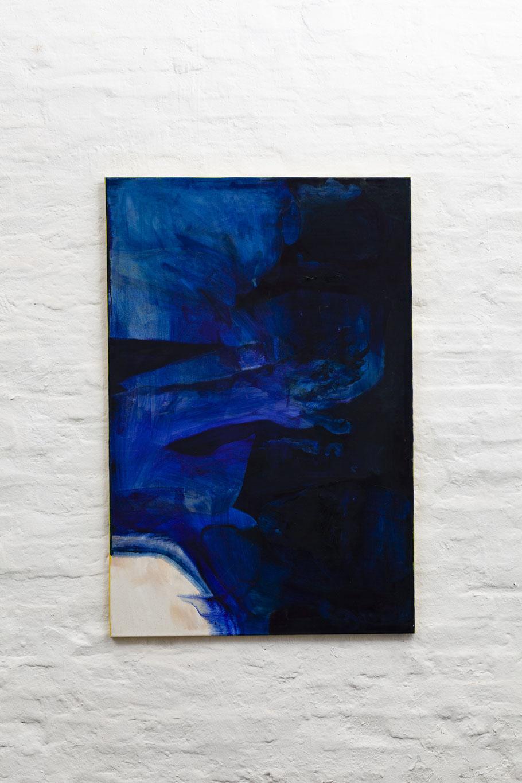 >>Uh<<, Oil on Canvas, 80 x 120 cm, 2018