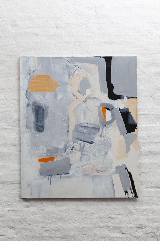 >>hidden me<<, Oil on Canvas, 100 x 150 cm, 2017