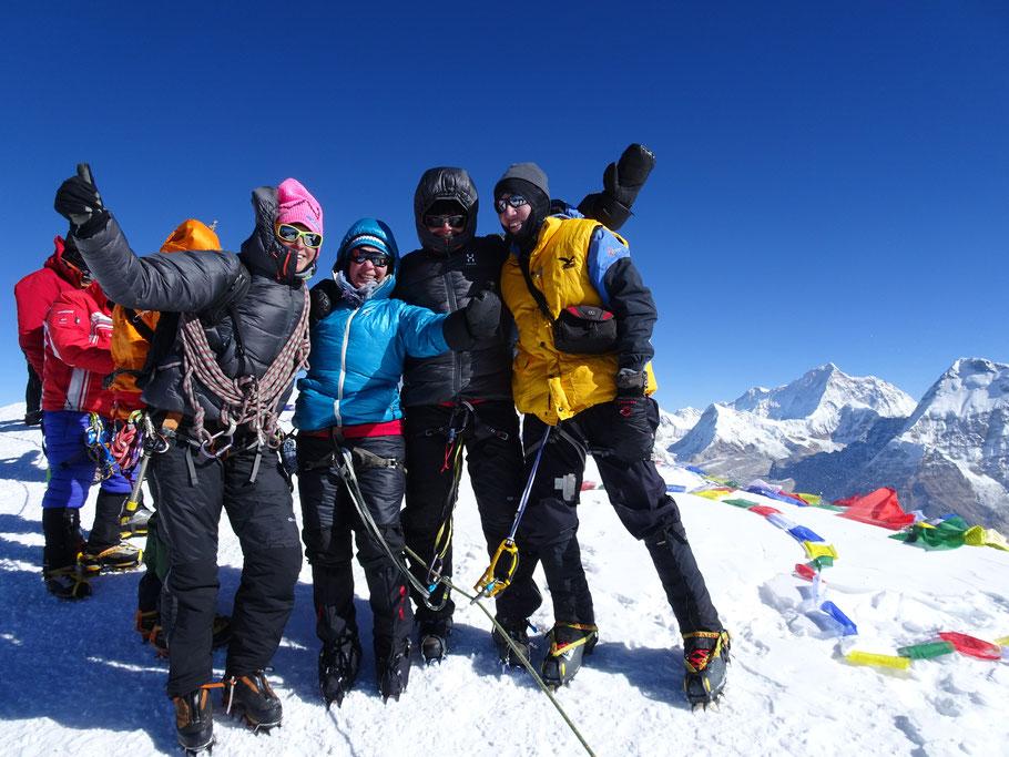 Gipfelerfolg - Mera Peak Trekking