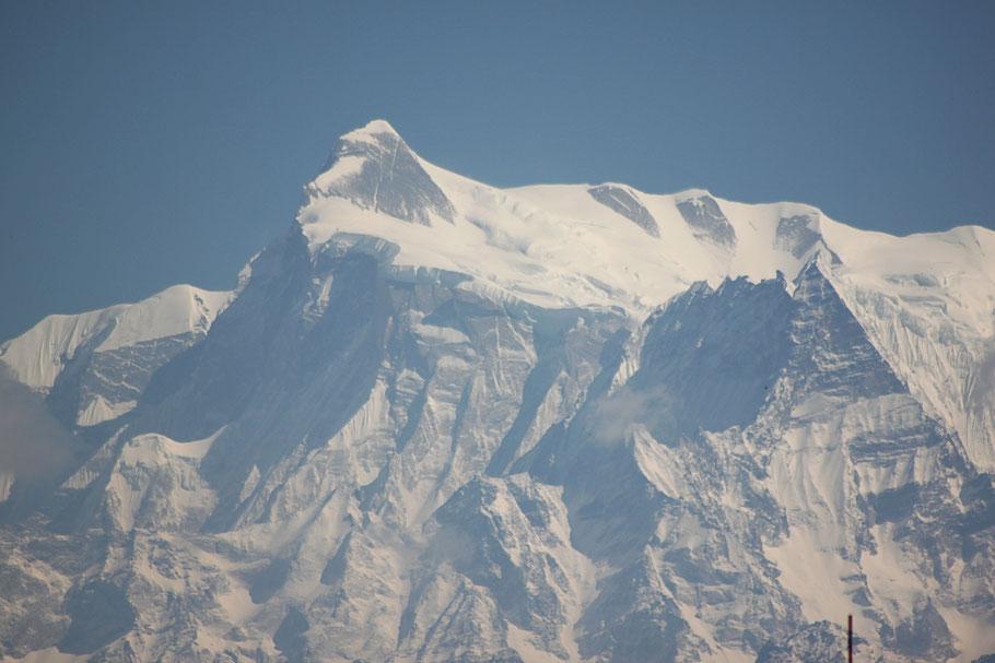 Annapurna IV im Abendlicht
