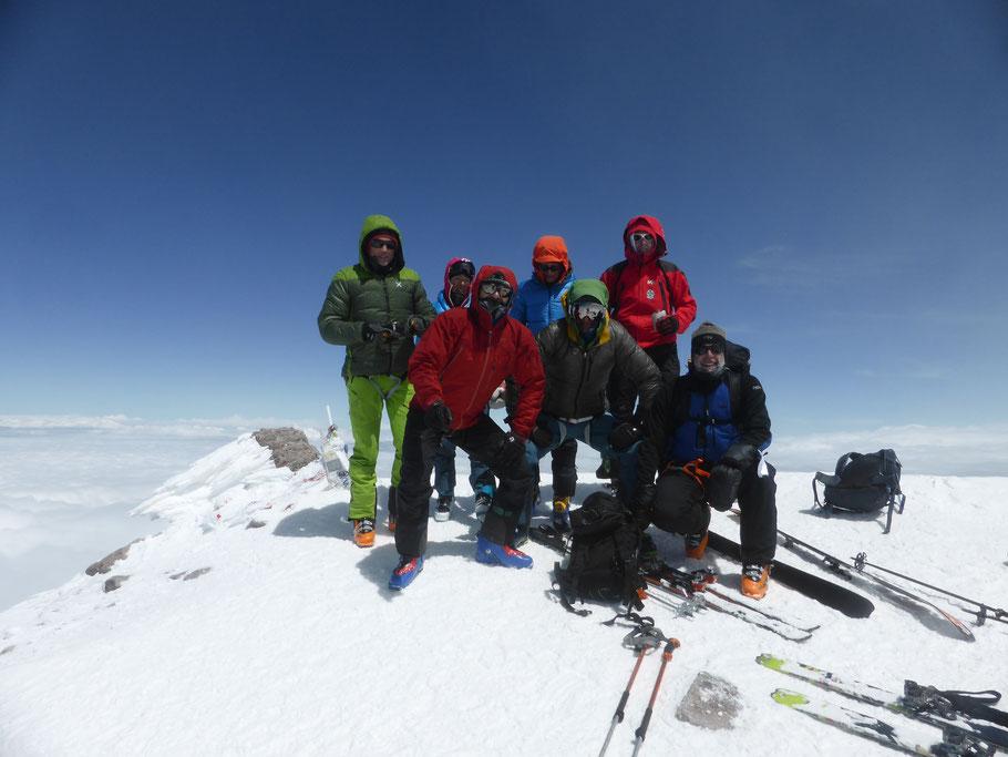 Skitour auf den Elbrus, Elbrus mit Ski besteigen, Elbrus als Skitour, Elbrus besteigen, Kazbek
