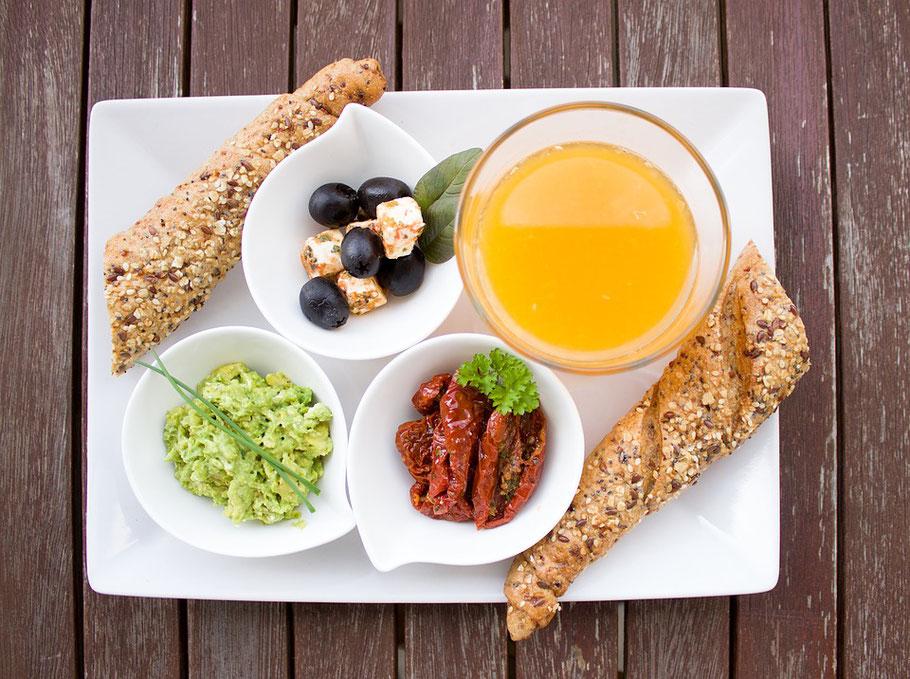 Lecker Essen mit einer für Sie individuell zusammengestellten Ernährung