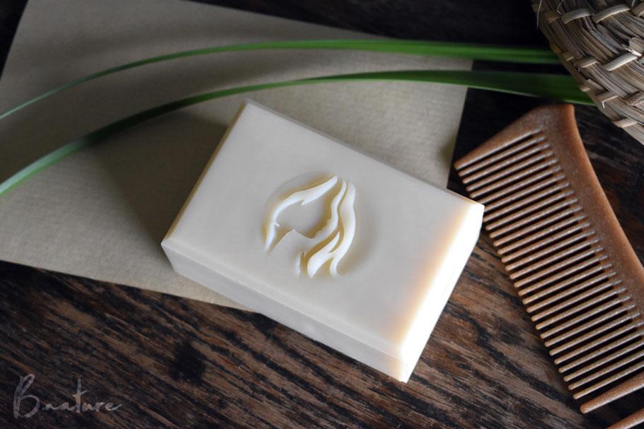 B.nature I Handmade Almond Milk Shampoo Bar