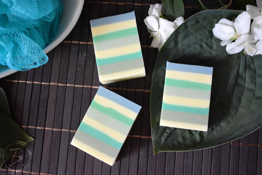 B.nature I Handmade Soap Blue Agava