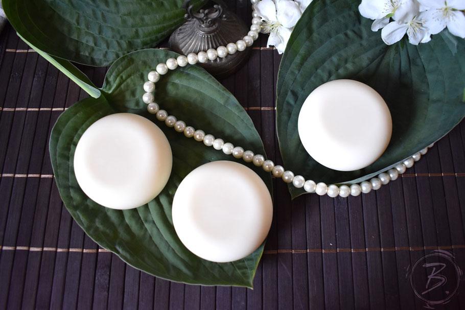 B.nature I Handmade Soap White Pearl