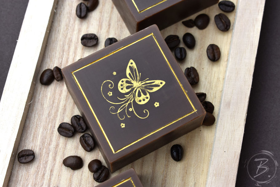 B.nature Handmade Coffee Soap