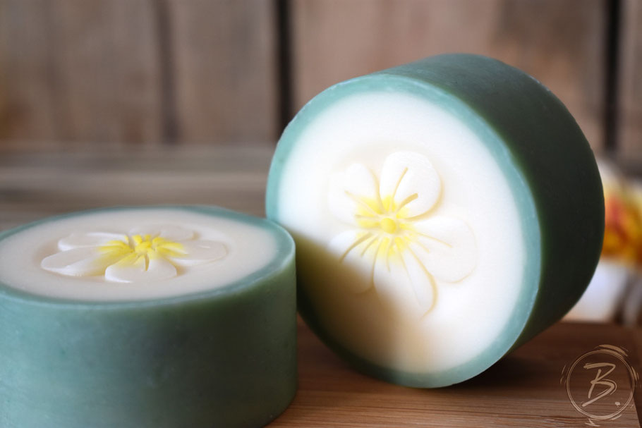 B.nature I Handmade Rimmed Soap Aloha