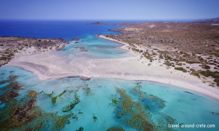 b2d7abe3e29a98 The Lagoon of Elafonisi - Travel around Crete