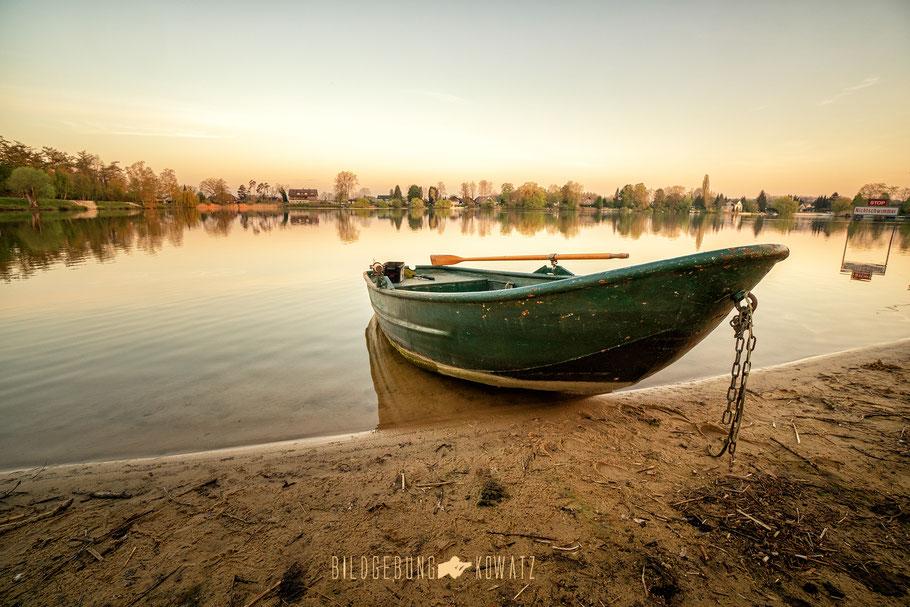 Boot am Ternscher See