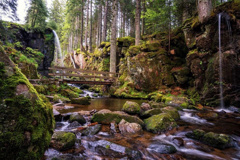 Wasserfall im Hochschwarzwald