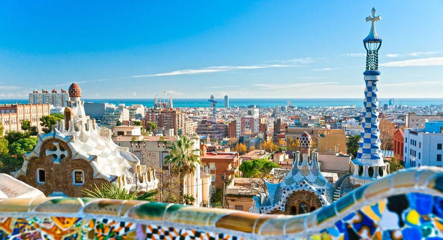 Gaudi und Barcelona Weine