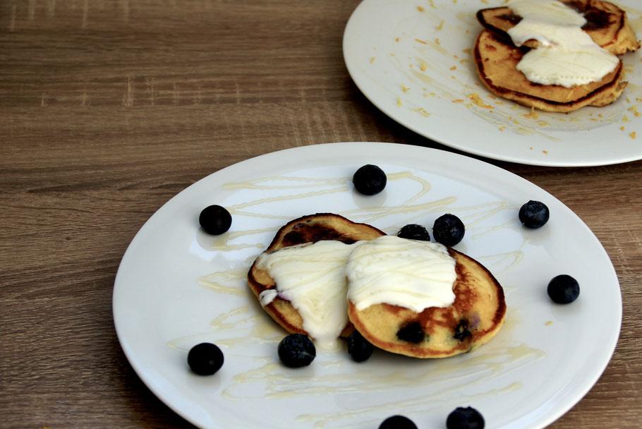 Italian Pancakes - Pancakes mit Mascarpone