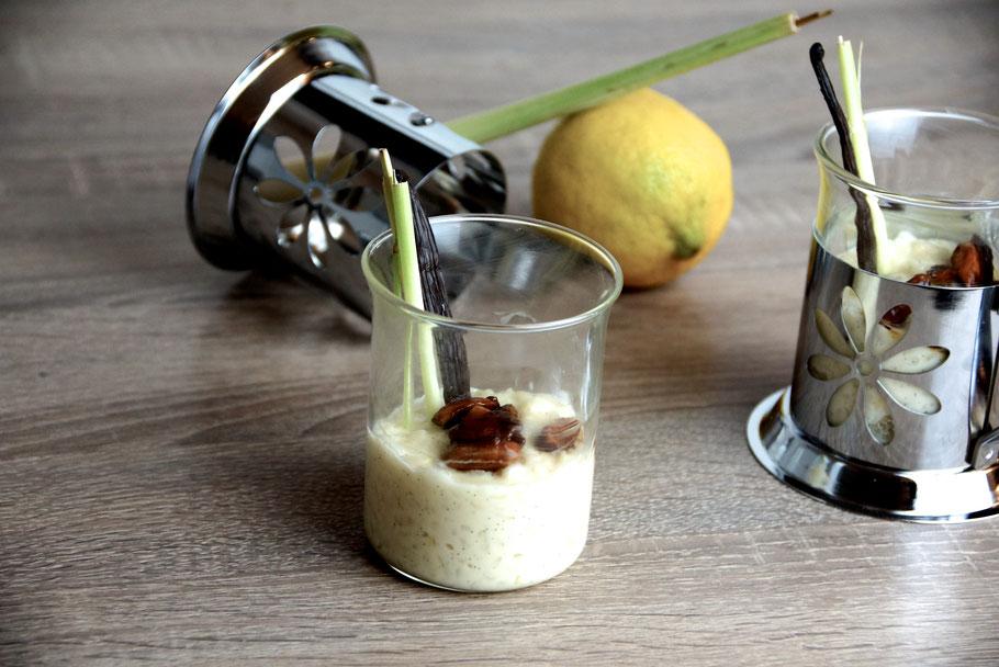 Zitronenrisotto Dessert