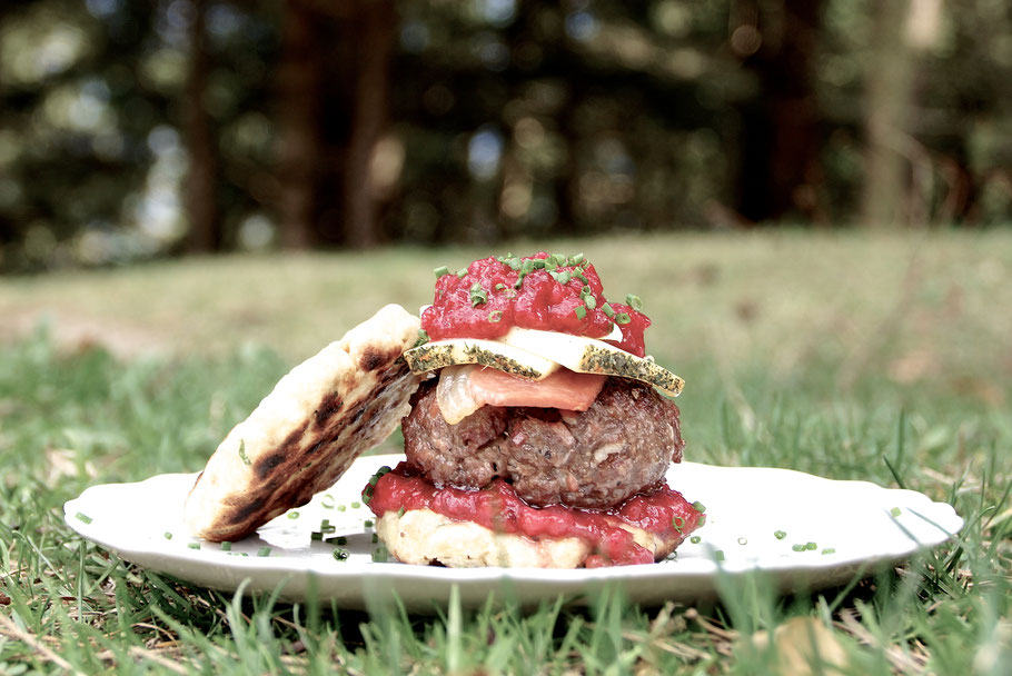 Tiroler Burger - Tyrolean Burger