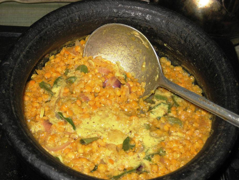 Brotfrucht Curry in Kokosnussmilch