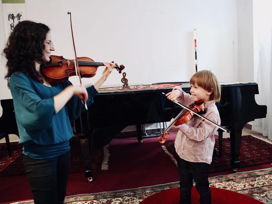cours de violon à Vienne en français