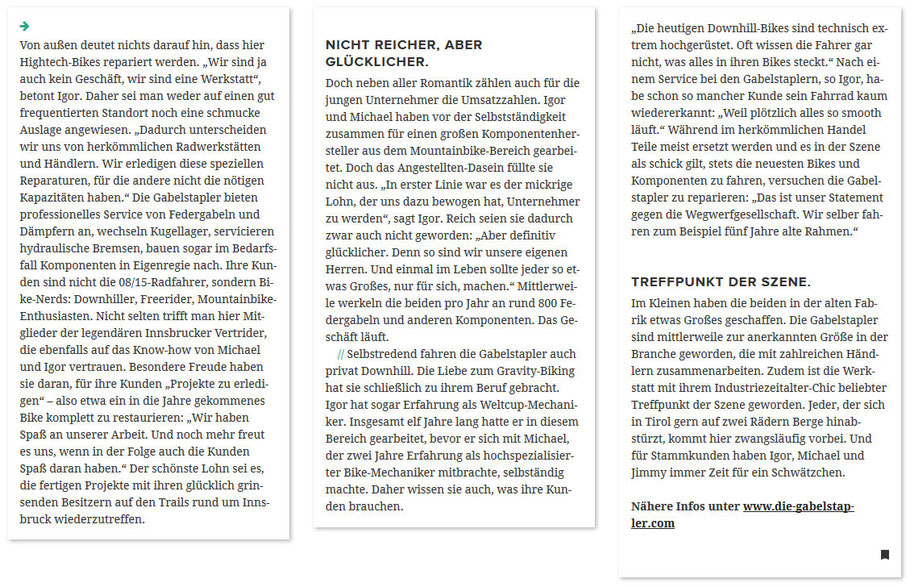 Gabelstapler Artikel 6020 Magazin