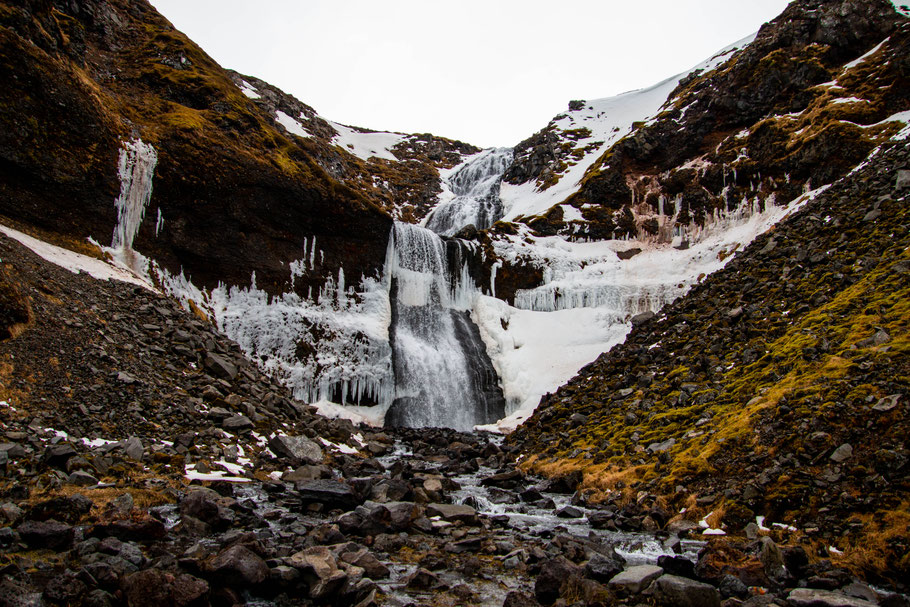 Kerlingafoss, Snæfellsnes Peninunsula, iceland, landscape, waterfall