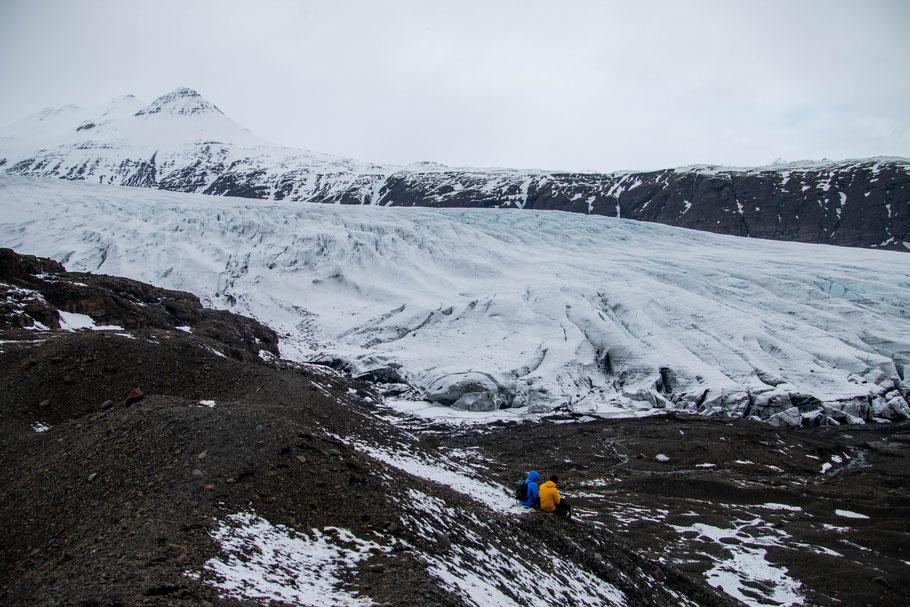 Heinabergsjökull, Iceland, landscape, glacier