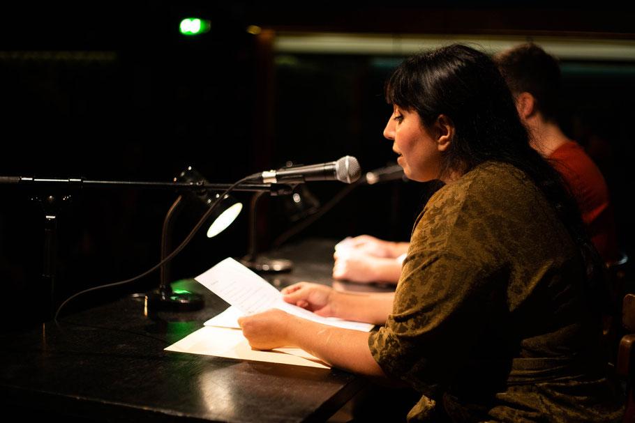 Author Yildiz Çakar reading her work