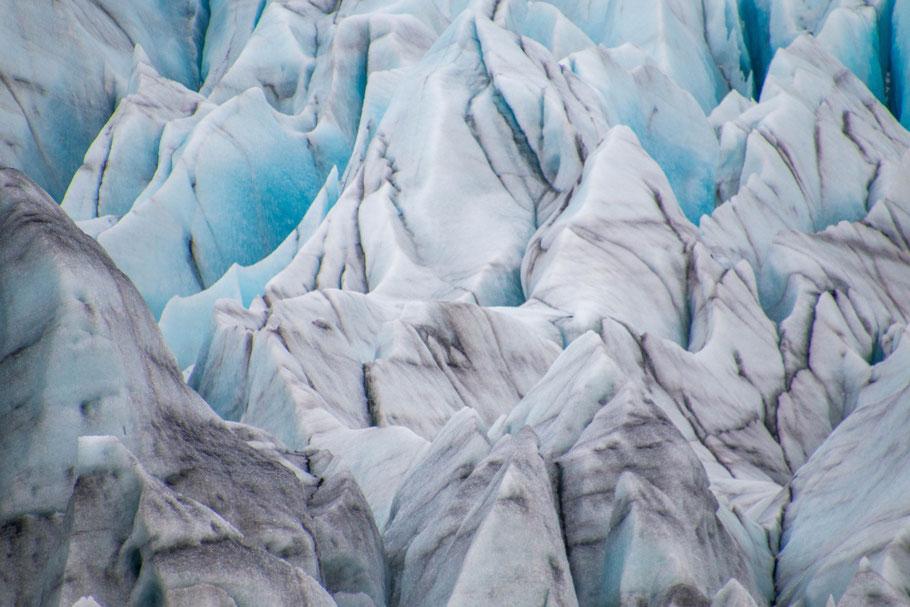 iceland, glacier, Skaftafellsjökull