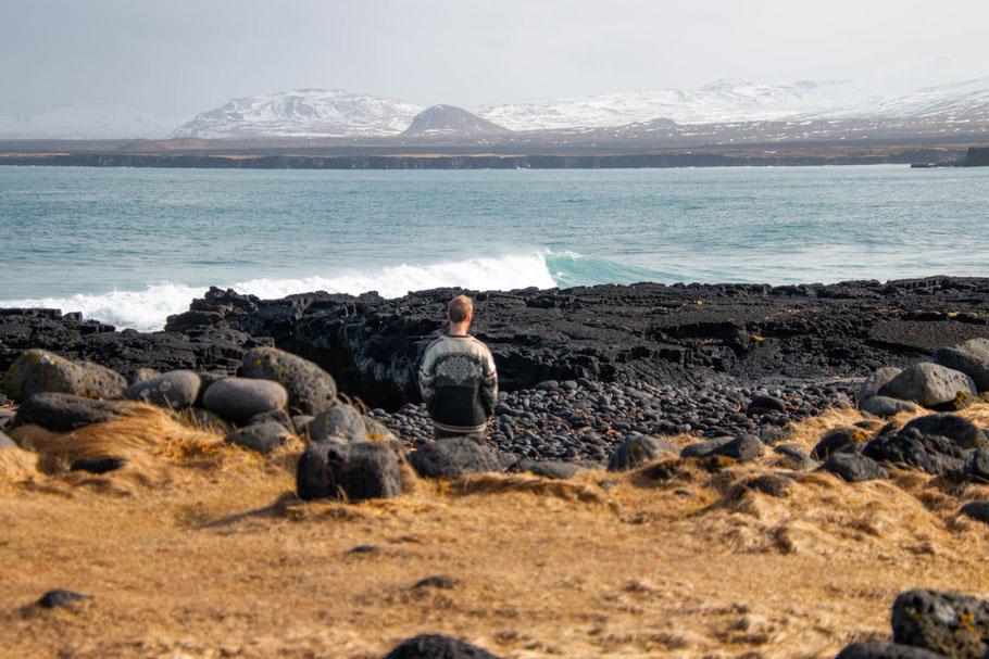 Snæfellsnes national park, iceland, landscape, ocean, seascape, Öndverðarnes lighthouse